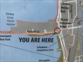 """Image for Bay Trail """"You are here"""" - Emeryville, CA"""