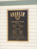 Image for Founders Park - 2011 - Anaheim, CA