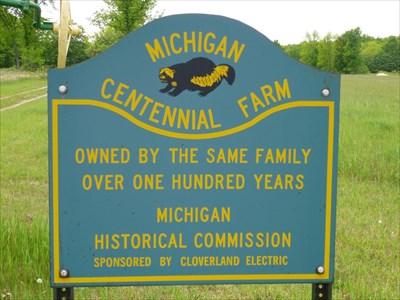 Michigan Centenial Farm Barbeau Michigan Michigan Centennial Farms On Waymarking Com