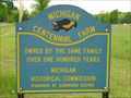 Image for Michigan Centenial Farm - Barbeau - Michigan.
