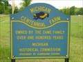 Image for Michigan Centenial Farm - Barbeau - Michigan.
