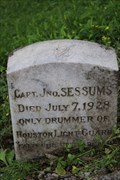 Image for ONLY -- Drummer of the Houston Light Guard, College Park Cemetery, Houston TX