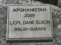 Image for Afghanistan-Iraq War Memorial - Town Hall Square, Bridgend, Wales.