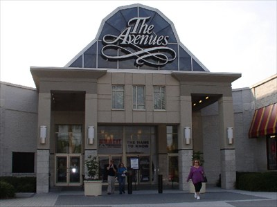 avenues mall jacksonville store directory