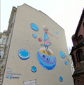 Image for The Little Prince Mural - Poznan, Poland