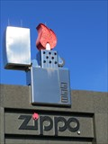 Image for Giant Zippo Lighter - Bradford, Pennsylvania
