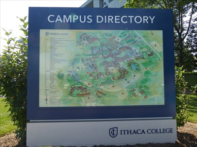 Campus Map Ithaca College.You Are Here Peggy Ryan Williams Center Ithaca College Ithaca