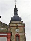Image for Church Clock, Bor, Czech Republic