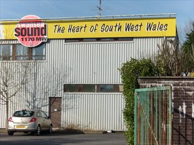 """SwanseaSound 1170mw"""" - Swansea, Wales."""