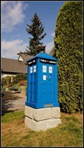 Image for TARDIS - Little Free Library 77392 — Surrey, BC