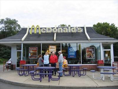 McDonald's - E Main St - Westfield, NY - The Group Outside