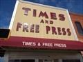 Image for Times & Free Pess - Kingfisher, OK