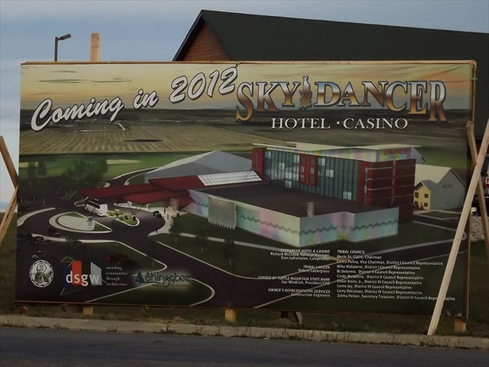 Sky dancer casino in nd