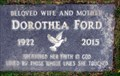 Image for Dorothea Ford - Oliver Cemetery - Oliver, British Columbia Canada