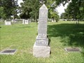 Image for Chas. E. Hancock - Hollywood Cemetery - Houston, TX