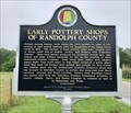 Image for Early Pottery Shops of Randolph County - Bacon Level, AL