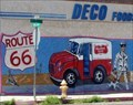 Image for The Deserts Dairy - Route 66 Mural - Needles, California, USA.