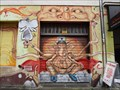 Image for Elephant grafitti on garage door - Cologne, NRW, Germany