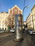 Image for Moderní reklamní sloup - Smetanovo nábreží - Praha, CZ