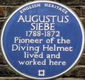 Image for Augustus Siebe - Denmark Street, London, UK