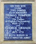 Image for Thomas Tompion and George Graham - Fleet Street, London, UK