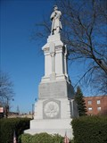 Image for Civil War Memorial at St. Boniface Cemetery - Chicago, IL