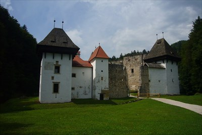 Outside view of the Žička kartuzija.