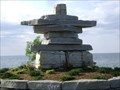 Image for Inukshuk At Sunset Park - Collingwood, Ontario, Canada
