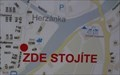 Image for Zde stojite / You Are Here Map before Kino Máj - Chocen, Czechia