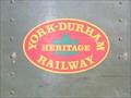 Image for YORK - DURHAM HERITAGE RAILWAY  - Uxbridge, Ontario