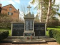 Image for Combined WWI and WWII Memorial in Wisskirchen - NRW / Germany