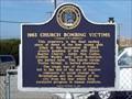 Image for 1963 Church Bombing Victims - Birmingham, AL