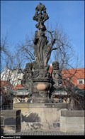 Image for St. Cajetan' sculptural group on Charles Bridge / Sousoší Sv. Kajetána na Karlove moste (Prague)