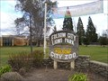 Image for Welcome Sign -- Folsom Lions Club -- Folsom, California