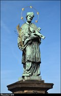 Image for Statue of St. John of Nepomuk on Charles Bridge / Socha Sv. Jana Nepomuckého na Karlove moste (Prague)