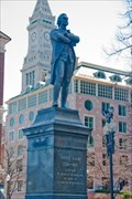 Image for Samuel Adams, Faneuil Hall -- Boston, MA  USA