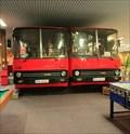 """Image for Two Ikarus """"caffee"""" buses - Bratislava, Slovakia"""