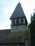 Image for Bell Tower, St Andrew's Church, Shelsley Walsh, Worcestershire, England
