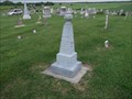 Image for Samuel & Rachel Vancleave - Indian Creek Hill Cemetery - rural Montgomery County, IN