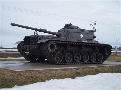 M60 Main Battle Tank - Post Falls, ID - Military Ground Equipment Displays  on Waymarking.com