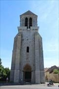Image for Le Clocher de l'église Saint-Georges - Lizines, France
