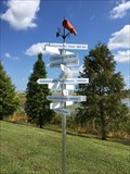 Image for Kittinger Park Distance and Direction Sign