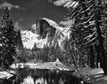 Image for Half Dome, Merced River, Winter - Yosemite, CA