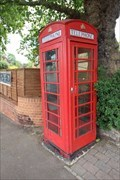 Image for Red Telephone Box - South Row, London, UK