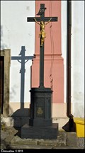 Image for Cross at Church of St. Valentine / Kríž u kostela Sv. Valentina - Príbor (North Moravia)