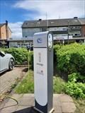 Image for Parkplatz vor dem Rathaus - Bedburg, NRW, Germany