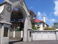 Image for Entrance Gates, New Plymouth Boys High School, New Zealand