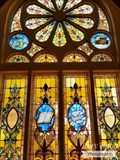 Image for Church Stained Glass Window - First Baptist Church - Florence, CO