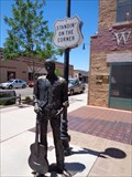 Image for Standin' on the Corner Park - Satellite Oddity - Winslow, Arizona, USA.