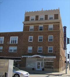 Strand Hotel Chillicothe Commercial Historic District Missouri Nrhp Districts Contributing Buildings On Waymarking